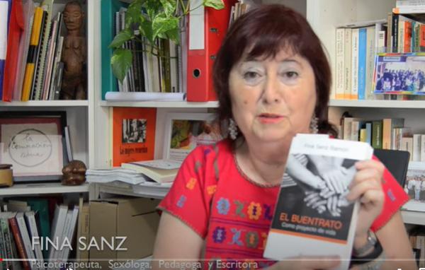 Presentacion libro El buentrato de Fina Sanz